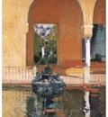 ls Sorolla 1908 Fuente del Alcazar de Sevilla