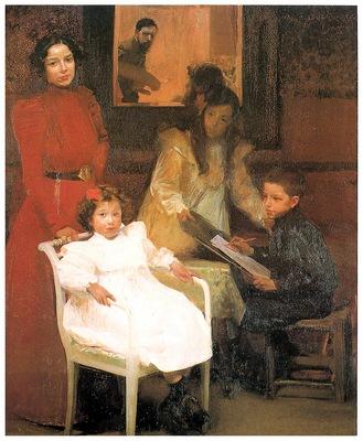 ls Sorolla 1901 Mi familia