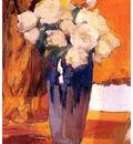 ls Sorolla 1919 Rosas blancas del jardin de la casa