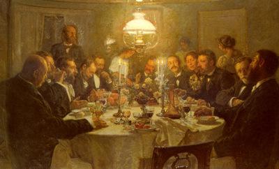 Johansen Viggo The Artists Gathering