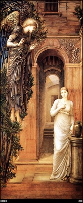 Burne Jones The Annunciation 1876 79 mln
