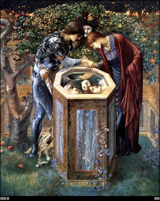 Burne Jones The Baleful Head 1885 mln