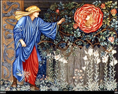 Burne Jones The Heart Of The Rose 1901 mln