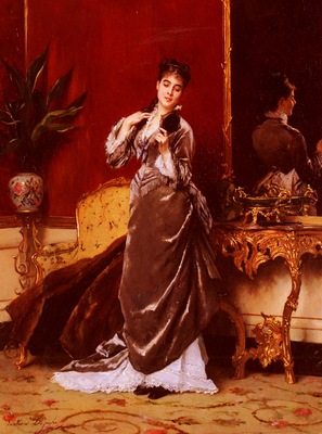 Jonghe Gustave Leonhard de Dressing For The Ball