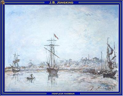 PO Vp S2 27 Jongkind Honfleur Harbour