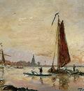 Jongkind Johan Barthold The Merwede Sun