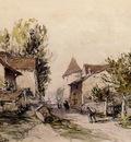 Jongkind Johan Berthold Peasants Returning to the Farm
