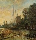 Jongkind Johan Berthold Windmill near the Water