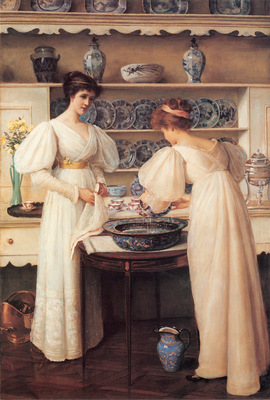 Jopling Louise Blue and White