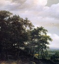 Lagoor de Jan Wooded landscape Sun