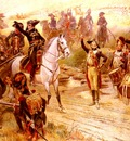 Lalauze Alphonse Napoleon Et Son Armee