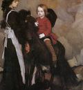 Lmabert Equestrian Portrait of a Boy