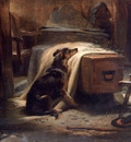 Landseer Edwin The prominent mourning visitor of the old she