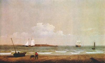 lane ten pound island from pavilion beach 1850s