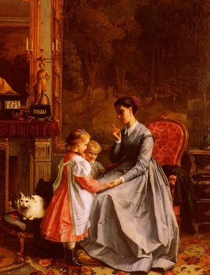 Lanfant de Metz Francois Louis The New Nanny