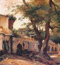 Langlois Jean Charles Fountain near Algiers