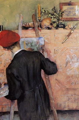 Larsson Carl The Still Life Painter