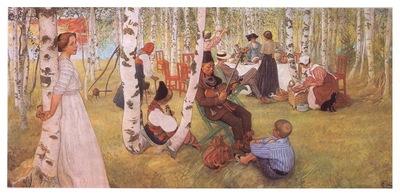 ls Larsson 1910 13 Breakfst in the Open oil