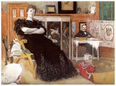 ls Larsson2 19 Retrato de Anna Petersson Norrie1895