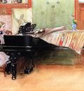 Carl Larsson Skalorna Playing Scales