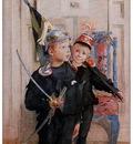 ls Larsson 1894 Ulf and Pontus watercolor