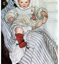 ls Larsson 1900 Esbjorn November 1900 watercolor
