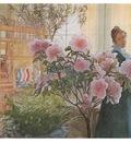 ls Larsson 1906 Azalea watercolor
