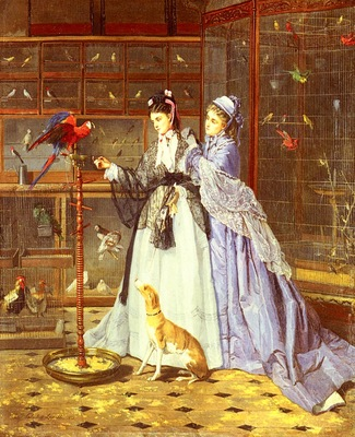 Lassalle Camille Cabaillot At The Birdsellers