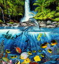 kb Lassen Greeting Cards Eternal Rainbow Sea