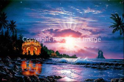 Christian Riese Lassen Temple Of Light Lassen Island 1996 Adamas
