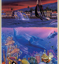 p Christian Lassen Lahaina Visions Triptych LeftL