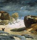 laurens jules il sentiero delle sabbie a fontainebleau