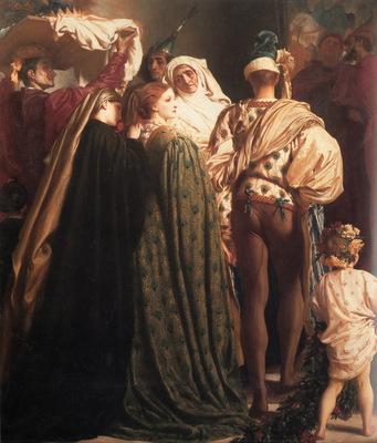 Leighton Dante in Exile left detail