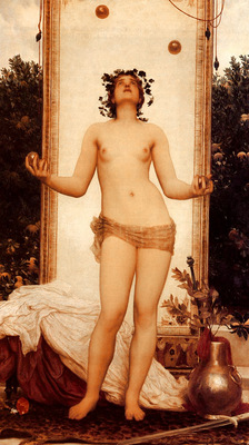 Leighton Lord Frederic The Antique Juggling Girl