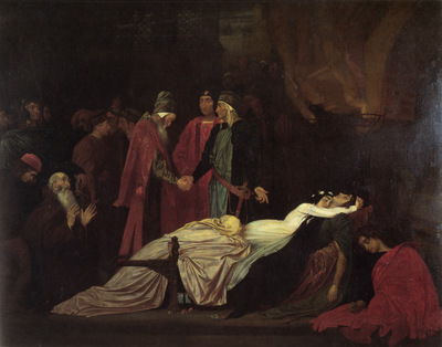 Leighton The Reconciliation of the Montagues and the Capulets