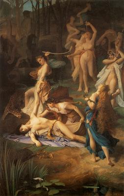 Levy Emile Death of Orpheus