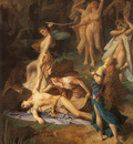 Levy Emile Death of Orpheus