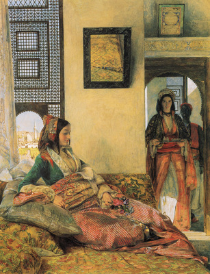 Lewis John Frederick Life in the Hareem Cairo