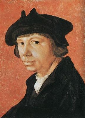 Lucas van Leyden Selfportrait, 1509, Herzog Anton Ulrich Mus