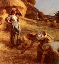 Lhermitte Leon Augustin Haymakers
