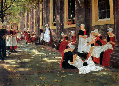Liebermann Max Free hour at Amsterdam orphanage Sun