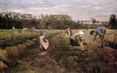 Liebermann Max Potato gatherers