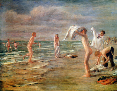 Liebermann Max Swimming boys Sun