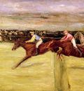 Liebermann Max Horse races Sun