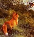 Liljefors Bruno Eluding The Fox