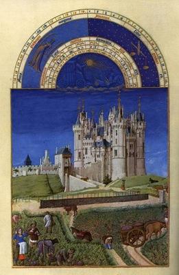 Limbourg bros Les tres riches heures du Duc de Berry  Septem