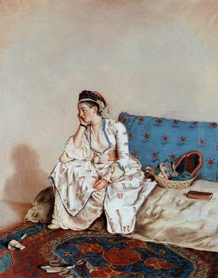 Liotard Jean Etienne Portrait of a lady Sun