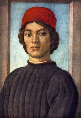 Lippi Filippino Portrait of a Youth c1485