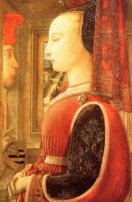 Lippi, Fra Filippo A Man a Woman at a Casement end