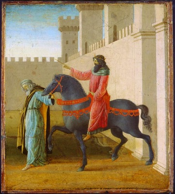 Lippi,F  The Triumph of Mordecai c  1475 1480, 48,3x43,2x3,